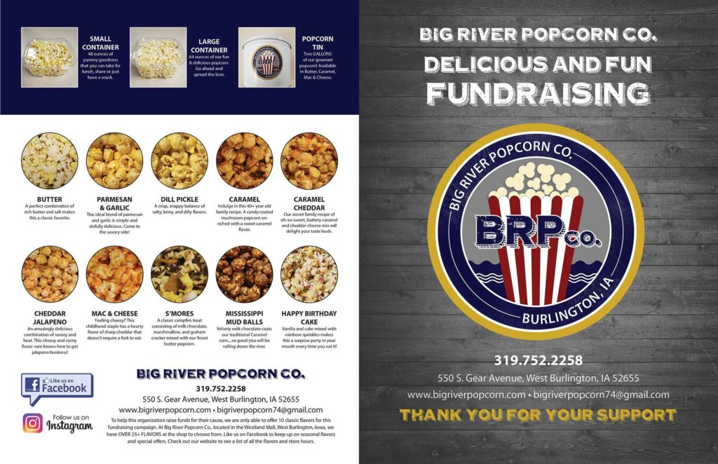 Fundraiser Front- Products
